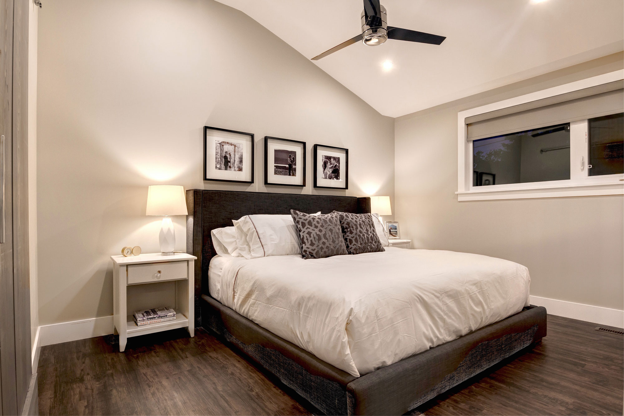 Bedroom Remodel with Hardwood floors by Style Developments
