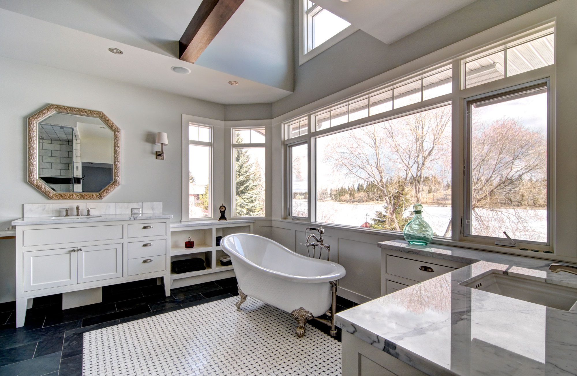 Lakeview Bathroom Remodel by Style Developments in Calgary Alberta