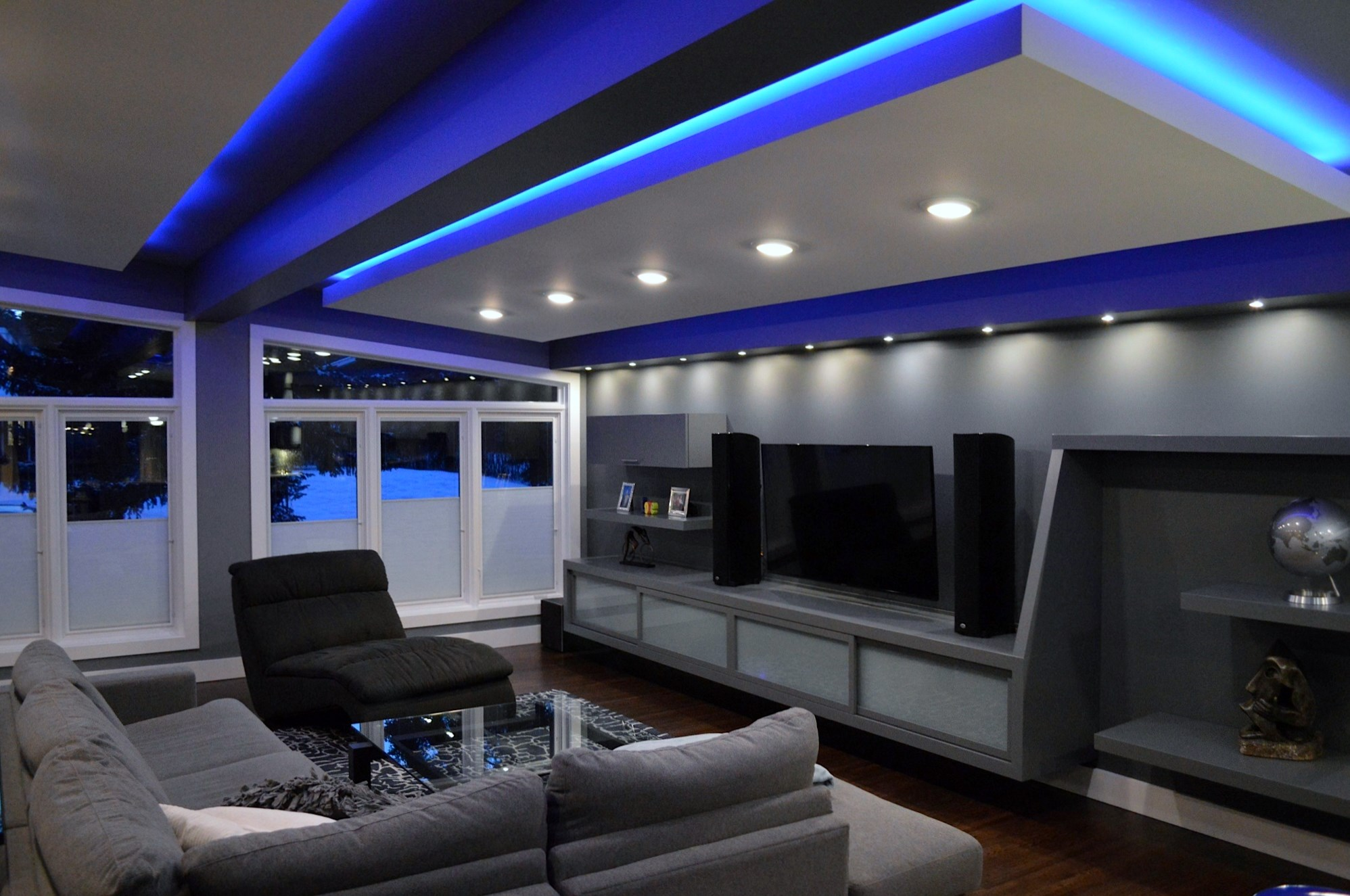 Living Room renovation by Style Developments in Calgary Alberta